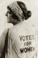 A famously controversial suffragette image (Corbis)
